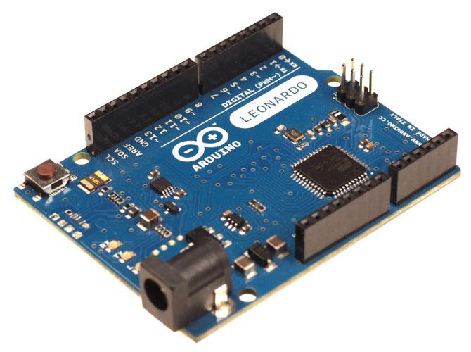 Arduino Leonardo w/ Headers