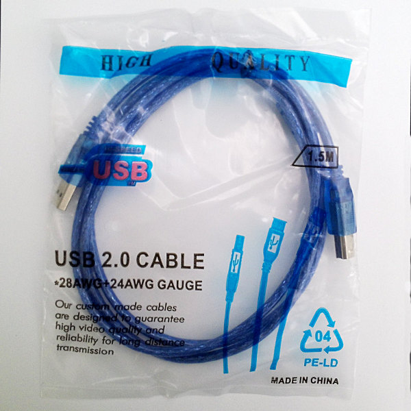 High Quality USB 2.0 Kabel - 1.4m