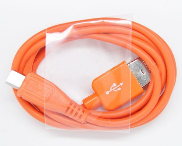 USB Micro-B Cable orange