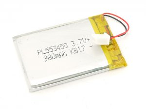 Lithium Ion polymer Batteries - 1Ah
