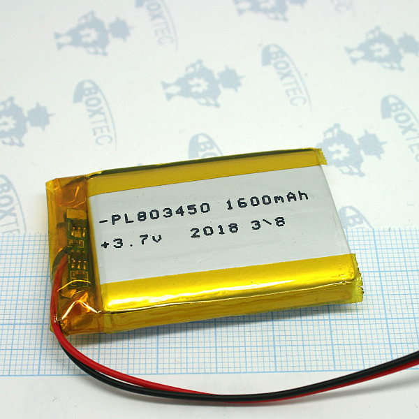 Lithium Ion Polymer Batteries Pack - 1600mAh