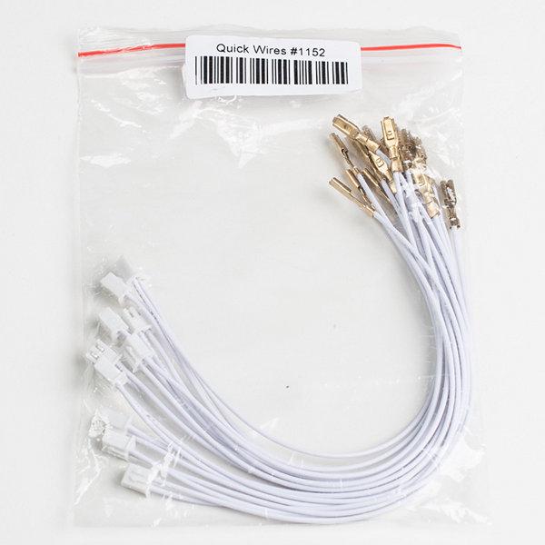 Arcade Taster Anschlusskabel Paar - 10Stk.