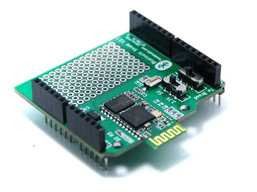BT Shield v2.1: Stackable Bluetooth Shield