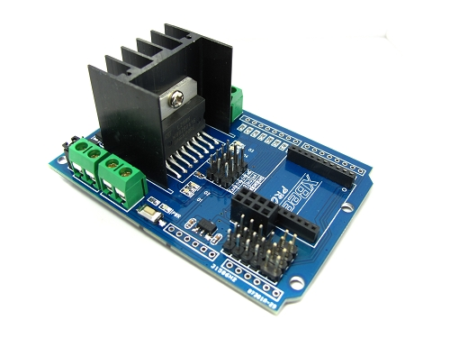 MotoMama : L298N H-Bridge Motor Driver Shield