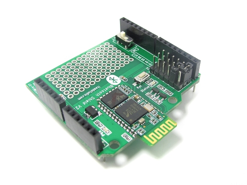 BT Shield v2.2 (Master/Slave): Stackable Bluetooth Shield