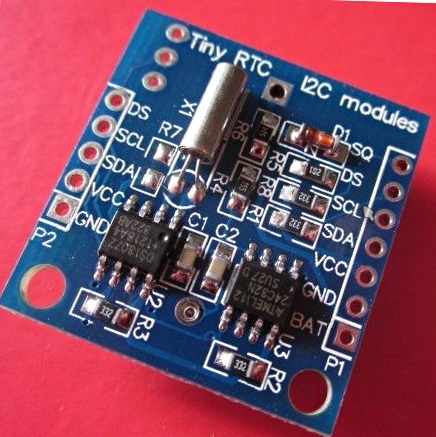 Tiny RTC (DS1307) I2C module w/ 32K EEPROM