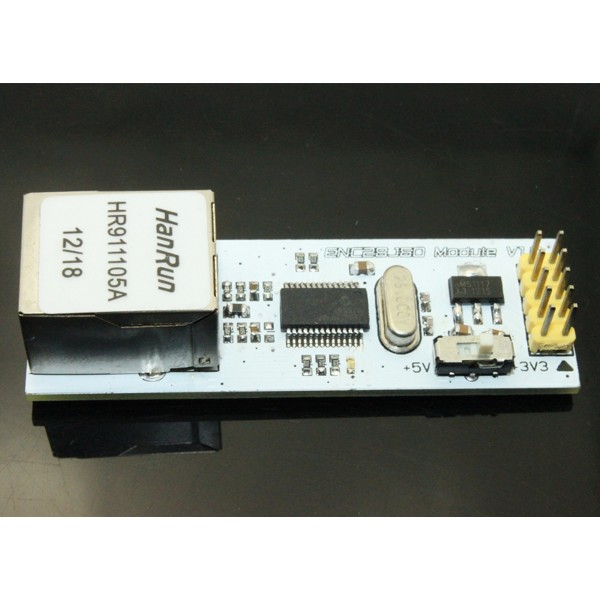 ENC28J60 Mini Ethernet Module (3.3V/5V)