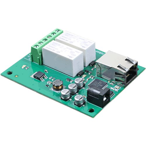 2 Channel Ethernet Relay 16A - ETH002