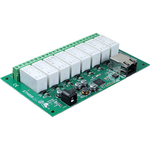 8 Channel Ethernet Relay 16A - ETH008