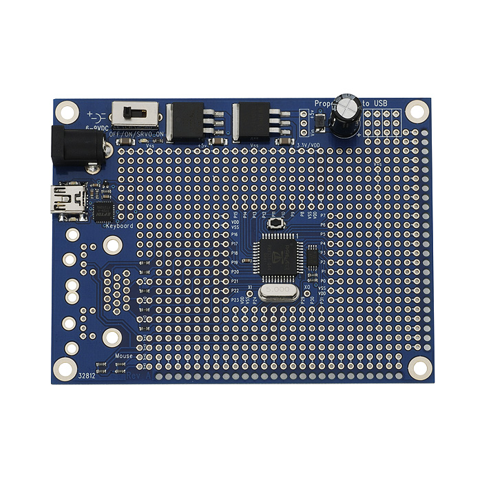 Propeller Proto Board USB