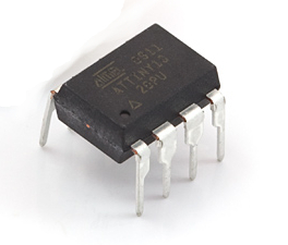 AVR 8 Pin 10MHz 1K 4A/D - ATtiny13