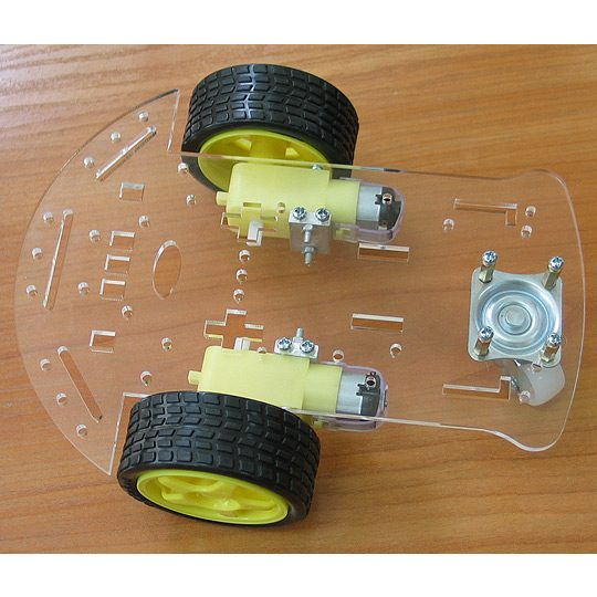 Robot-3-Wheel Chassis Kit