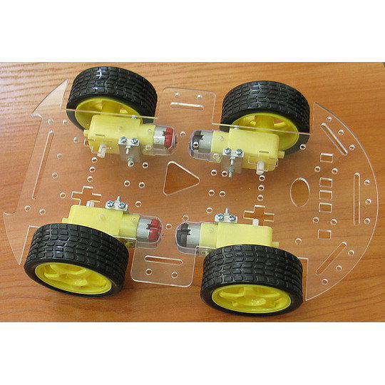 Robot-4-Wheel Chassis Kit