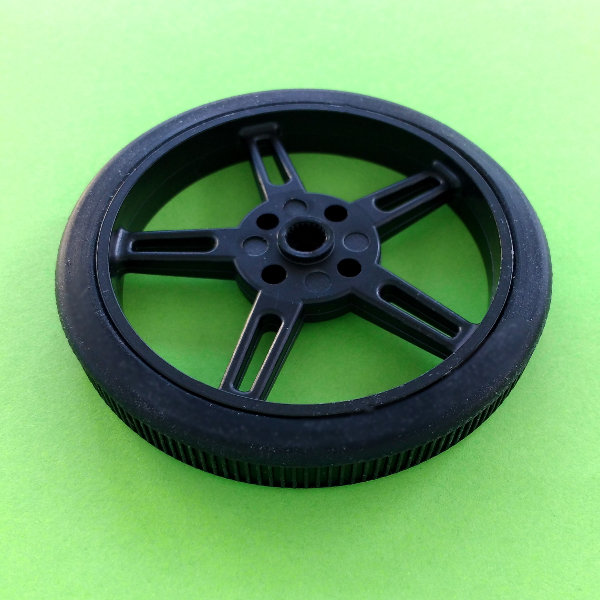 Wheel 60x8mm for FS90R Servo