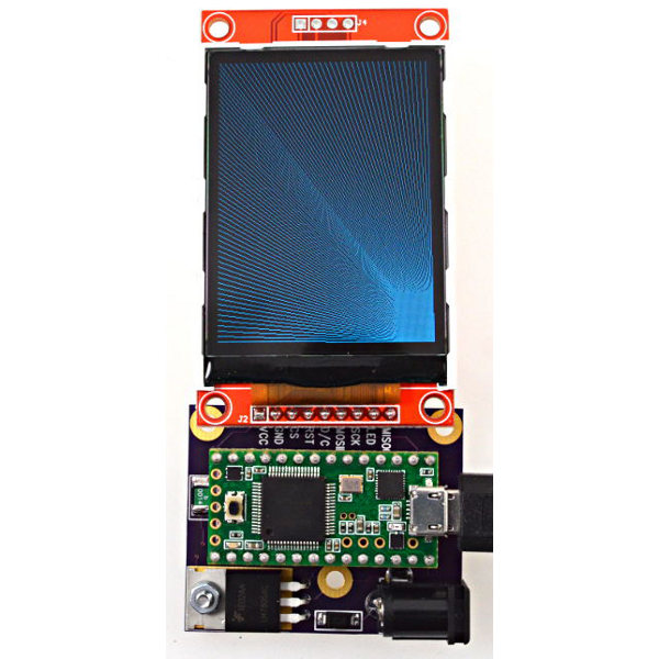 Color 320x240 TFT Display w/ ILI9341 Controller for Teensy 3.1