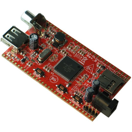 iMX233-OLinuXino-Micro Linux SBC w/ i.MX233 ARM926J @454Mhz
