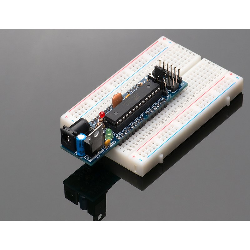 DC Boarduino (Arduino compatible) Kit (w/ ATmega328) -  v1.0