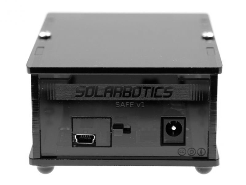 SAFE - Solarbotics Arduino Freeduino Enclosure (schwarz)