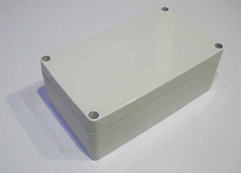 Waterproof ABS enclosure F2-P1 158x90x60mm