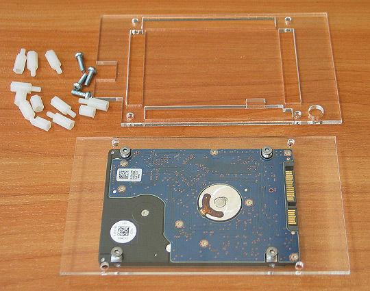 A20-OLinuXino Lasergeschnittenes Plexiglas Gehäuse