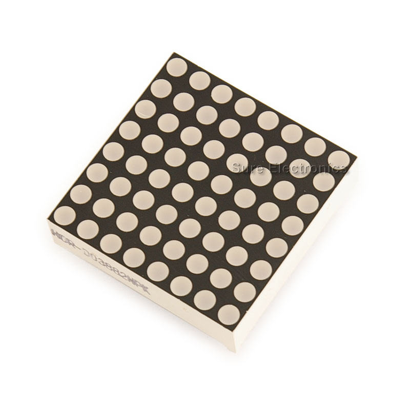 8x8 Dot Matrix 3mm dia. Bicolor LED Display
