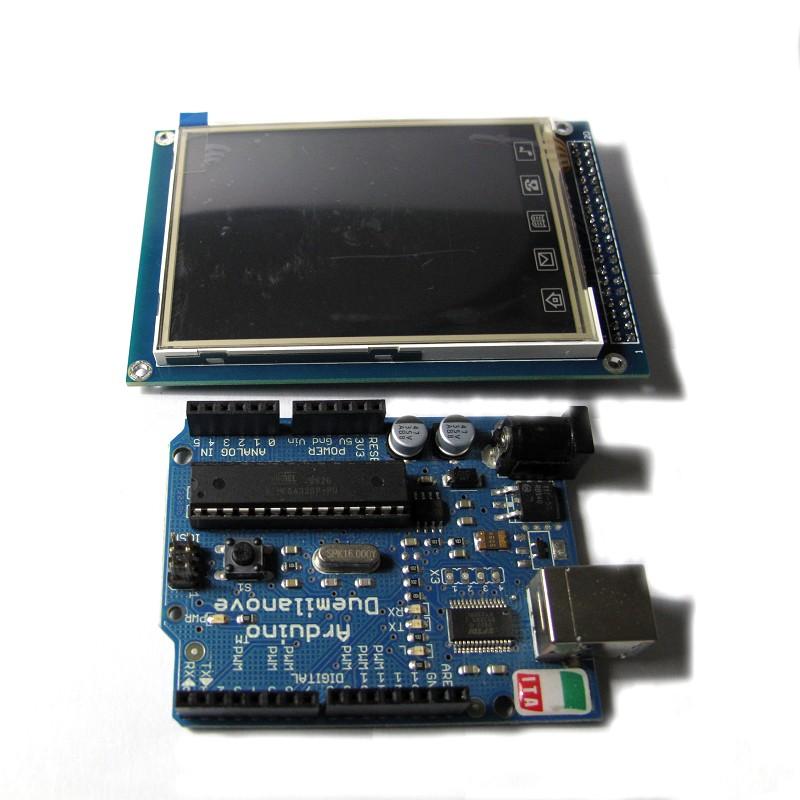 """3.2"""" TFT LCD Screen Module: ITDB02-3.2S"""