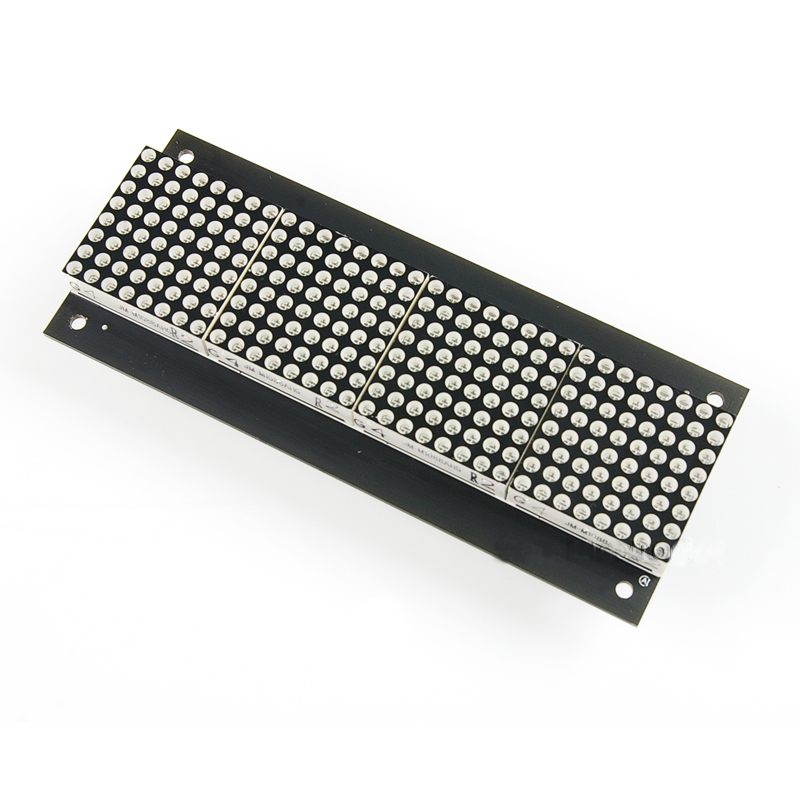 32x8 Dot Matrix Display Board HT1632C 3mm rot (DP13119)