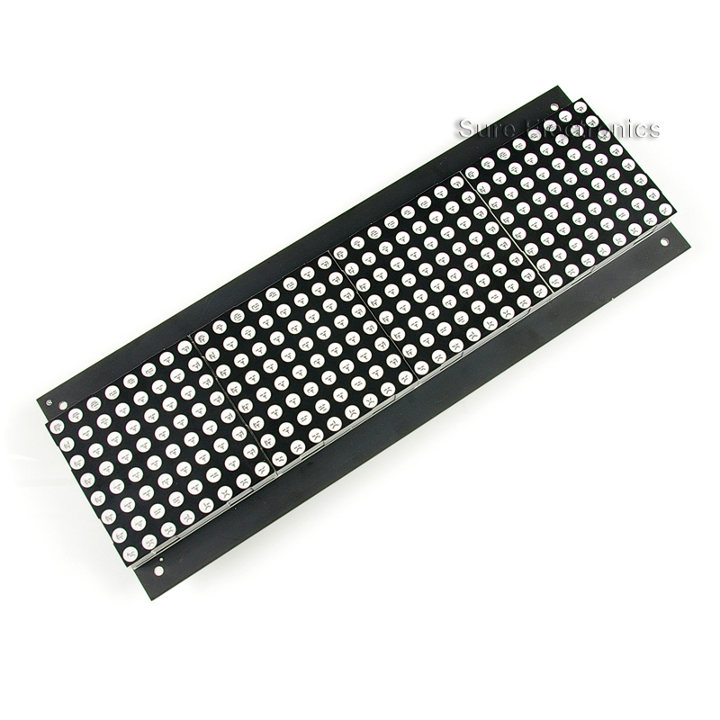 32x8 Dot Matrix Display Board HT1632C 5mm grün (DP13211)