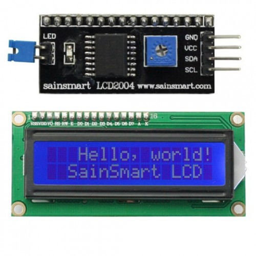 1602 LCD Module white characters blue backlight I2C