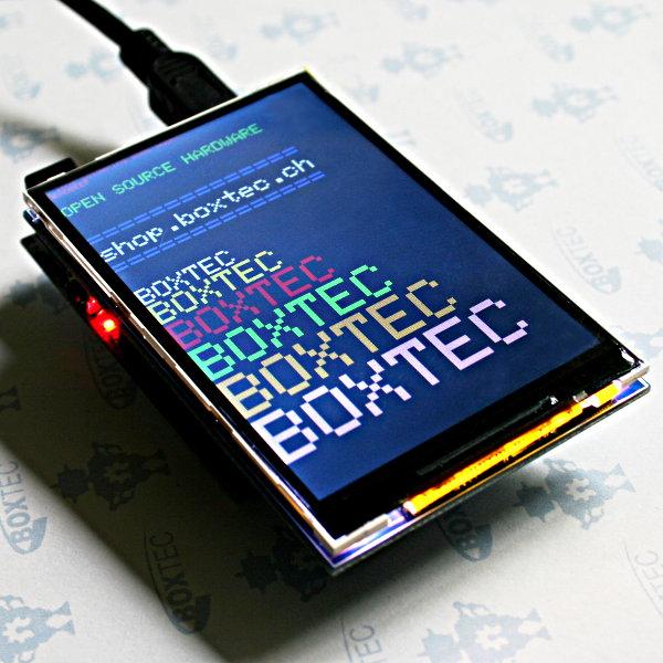 """3.5"""" TFT LCD Shield for Arduino Uno/Mega (ILI9481)"""