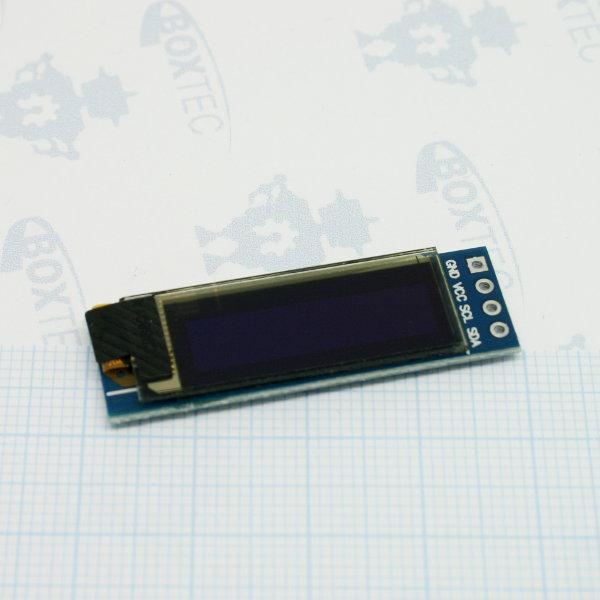 "OLED I2C Display 128x32 - 0.91"""