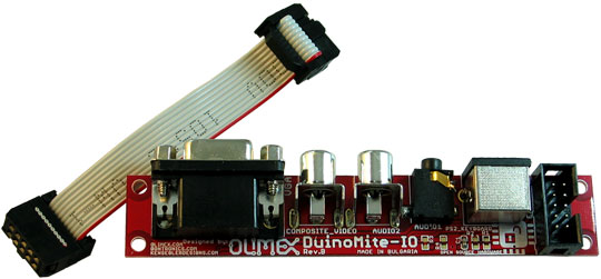 Duinomite-IO Input-Output Board fr Duinomite