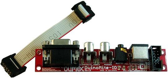 Duinomite-IO Input-Output Board für Duinomite