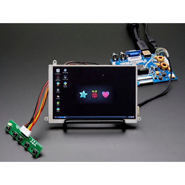 "5.6"" Display & Audio 1280x800 (720p) Kit - HDMI/VGA/NTSC/PAL"