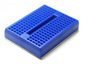 Mini Breadboard 4.5x3.5cm Blue
