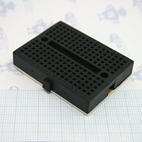 Mini Breadboard 4.5x3.5cm Black
