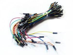 Breadboard Jumper Wire m-m (65 Stk)