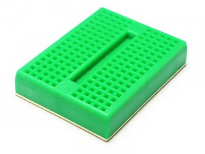 Mini Breadboard 4.5x3.5cm Green