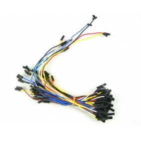 Breadboard Jumper Wire m-f (70-cable pack)