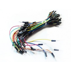 Breadboard Jumper Wire m-m (100-cable pack)