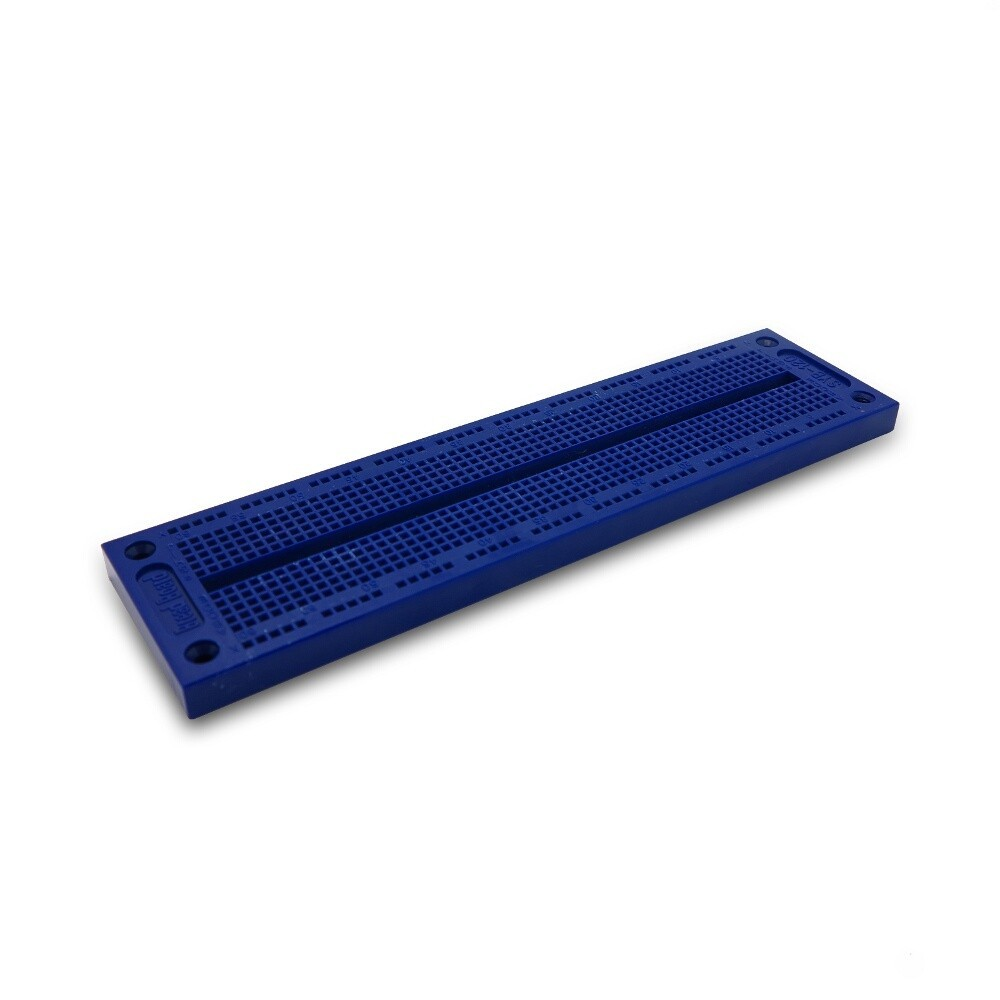 Color Breadboard 17.6x4.6cm blau