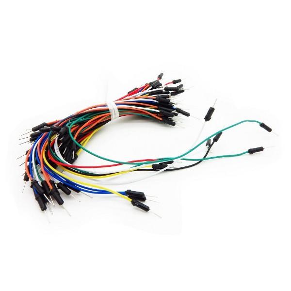 Breadboard Jumper Wire m-m (75 Stk)