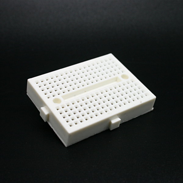 Mini Breadboard 4.5x3.5cm White