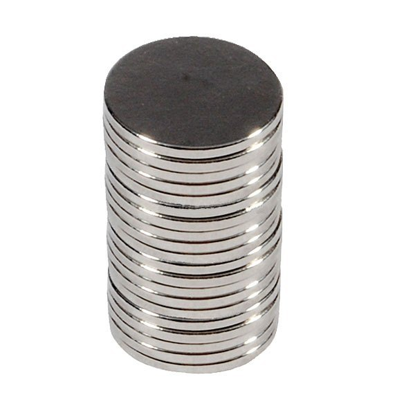 Superstarke RE Magneten (10x1mm) 10Stk.