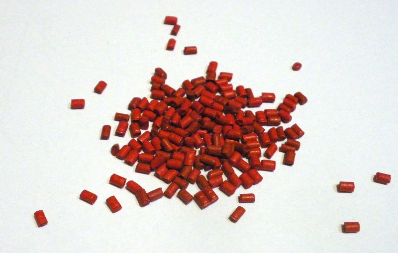 Polymorph color masterbatch (10g) red
