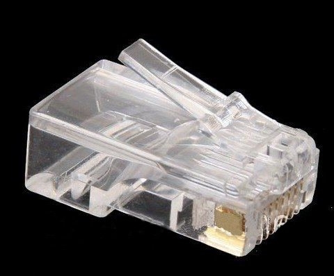 RJ45 CAT5 Crimp Stecker