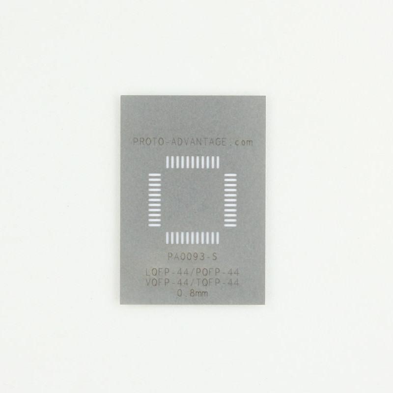 Stencil TQFP44