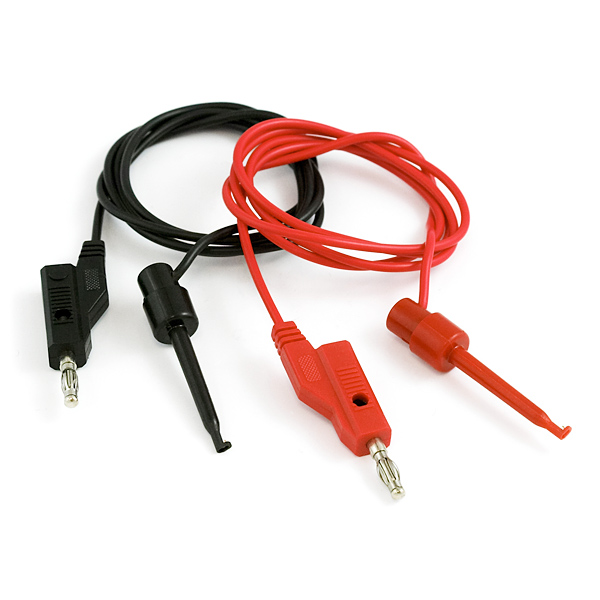 Banana to IC Hook Cables