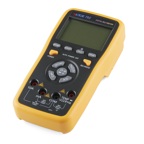 USB Digital Multimeter - Auto-Ranging (RS232)
