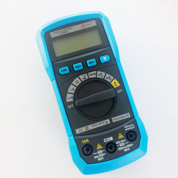 Digital Multimeter ADM02 - Autoranging